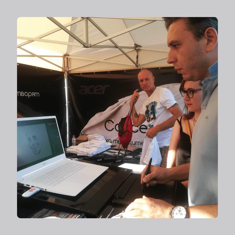 Организация на промоционално събитие на Acer в рамките на фестивала A to JazZ 2019